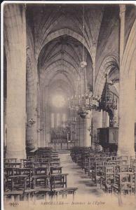 Interieur De l´Eglise, Sarcelles (Val-d´Oise), France, 1900-1910s