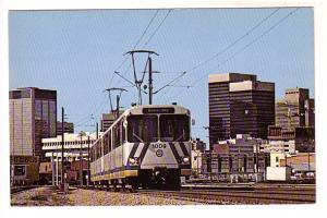 Edmonton North-east Light Rapid Transit Line, Trolley Car, Alberta,