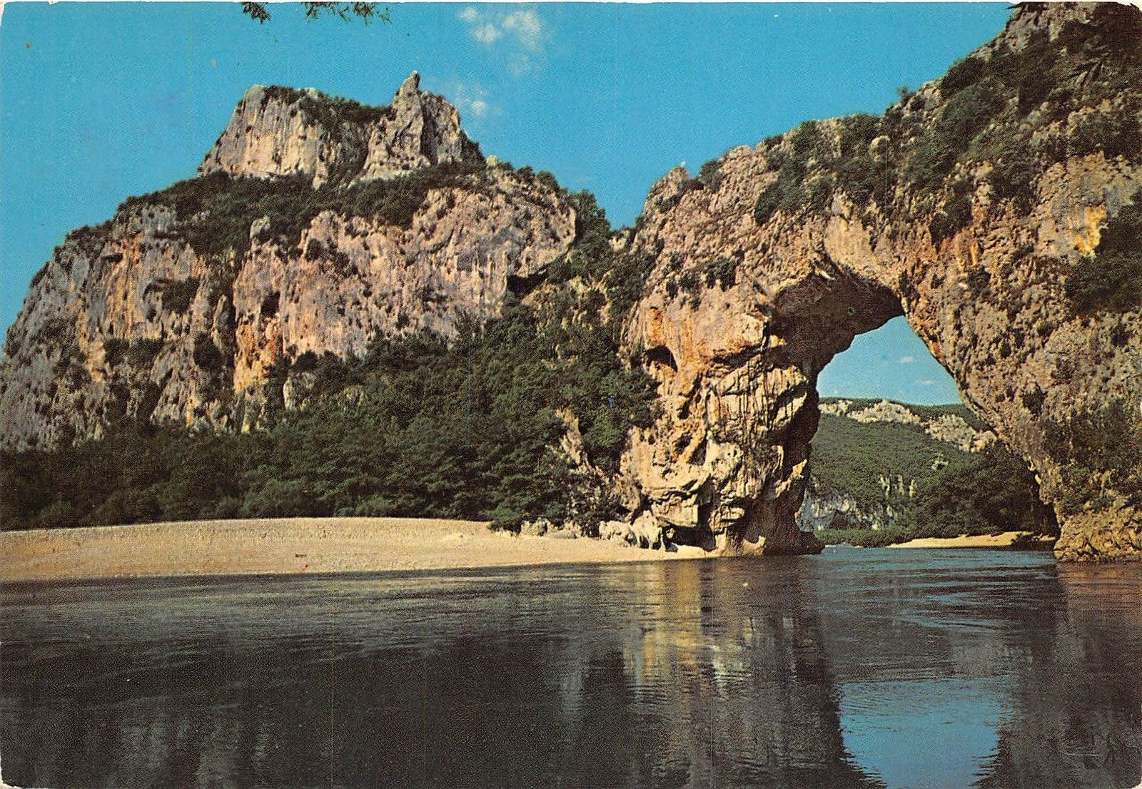 Br14864 Les Gorges De L Ardenche Le Pont D Arc France
