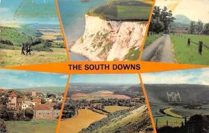 England The South Downs Devil's Dyke Beachy Head Brighton Long Man Wilmington