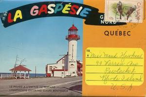 Canada - Quebec, Gaspe Peninsula  * Folder