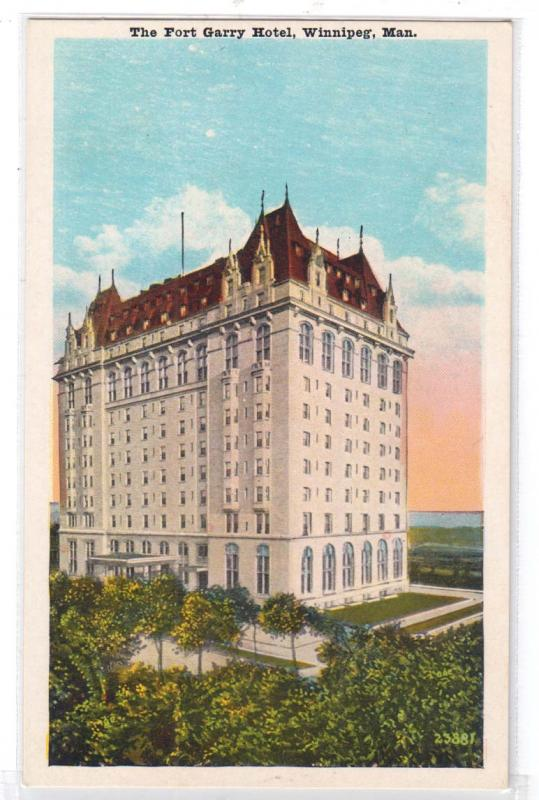 Fort Garry Hotel. Winnipeg, Man