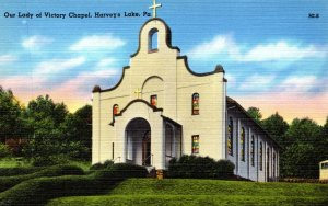Pennsylvania Harveys Lake Our Lady Of Victory Chapel