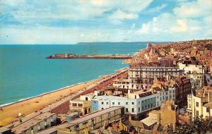 The Beach and Pier, Hastings Aerial view Promenade