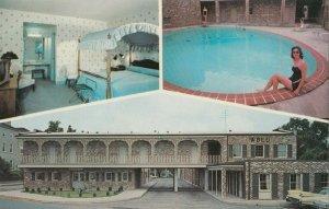 BEAUFORT , South Carolina , 1950-60s ; Sea Island Motel, Swimming Pool