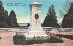 QUEENSTON HEIGHTS, Ontario, Canada, 1900-1910's; Laura Secord Monument