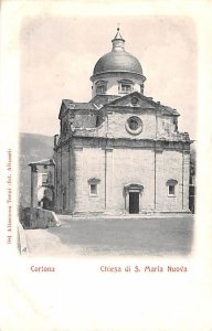 Cortona Chiesa di S Maria Nuova Italy Unused