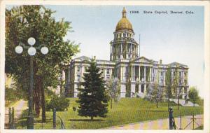 State Capitol Building Denver Colorado