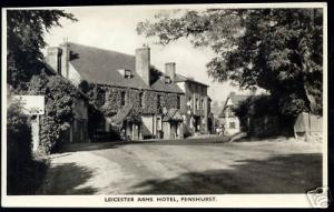 kent, PENSHURST, Leicester Arms Hotel (ca. 1960) PPC