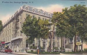 New York Saratoga Springs Worden Inn
