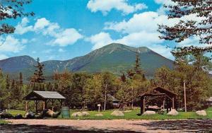 USA Mount Katahdin from Katahdin Stream Campsite, Baxter Park Maine
