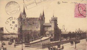 Belgium Anvers Le Steen 1920