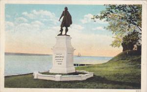 Captain John Smith Monument Jamestown Island Virginia