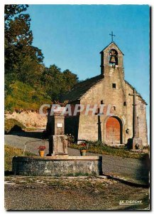 Modern Postcard The small mountain church