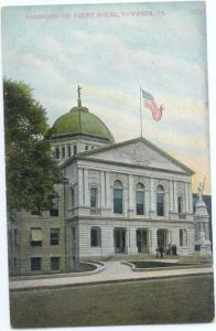D/B Bradford County Court House Towanda Pennsylvania PA