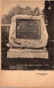 Massachusetts Greenfield Turner Monument