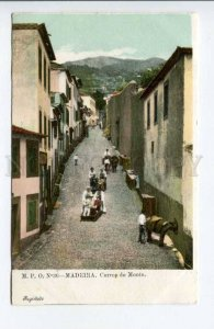 424425 PORTUGAL MADEIRA Mount Path Car Descent Vintage postcard