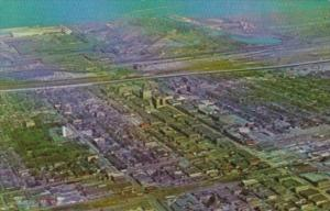 Indiana Gary Aerial View