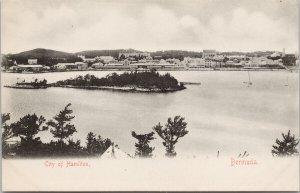 Bermuda City of Hamilton Unused AE Bourne Postcard G99