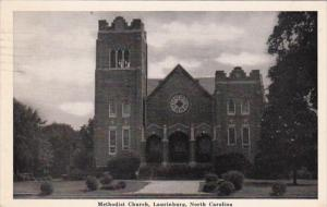 North Carolina Laurinburg Methodist Church 1942