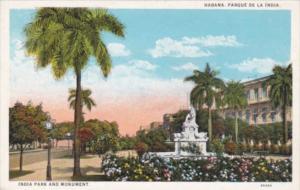 Cuba Havana India Park and Monument