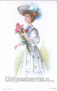 Artist Maud Humphrey (USA) Postcard Post Card Series P.C. 38 Artist Maud Hump...