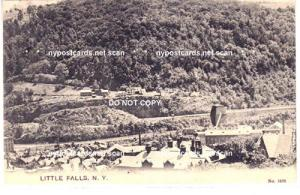 Aerial View Gilbert Knitting Co, Little Falls NY