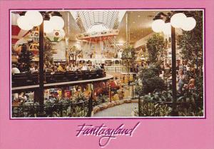 Canada West Edmonton Mall Fantaryland Edmonton Alberta