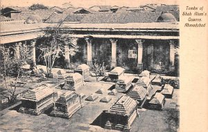 Tombs of Shah Alum's Queens Ahmedabad India Unused