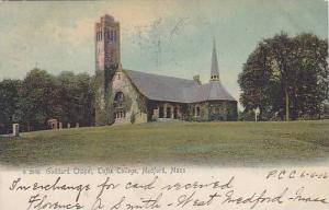 Goddard Chapel, Tufts College, Medford, Massachusetts, PU-1906