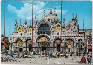 Italy, Venice, Venezia, Basilica di S. Marci, unused Postcard