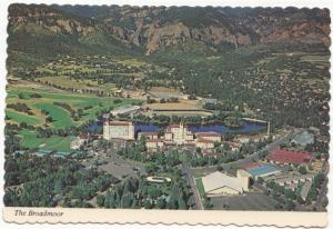 The Broadmoor, Colorado Springs, unused Postcard