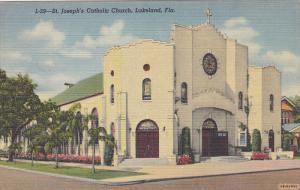 St. Joseph's Catholic Church, LAKELAND, Florida, 1930-1940s