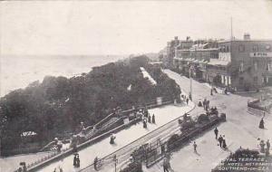 Royal Terrace  From Hotel Metropole, Southend-on-Sea, England, UK, 1900-1910s
