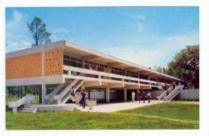 Science Building Patio, North Florida Junior College, Madison, Florida, 1940-60s