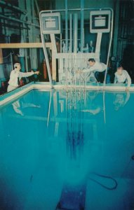 SWITZERLAND, 1955 Atoms for Peace , Test of Pool Type Reactor