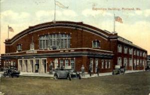 Exposition Building Portland ME 1920