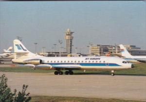 Jet Europe Super Caravelle 10 At Paris-Orly Airport