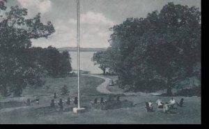 Vermont Burlington Lake Champlain from Oakledge Manor   Albertype