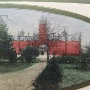 1909 Ohio State University Mailing Card Posted 1910 Townsend Hall Oval Student