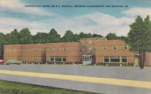 Potato City Hotel On U. S. Route 6, Between Coudersport And Galeton, Pennsylv...
