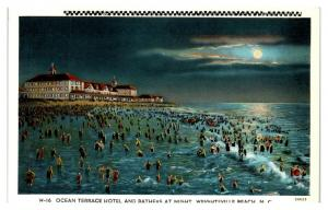 Ocean Terrace Hotel, Wrightsville Beach, NC Postcard *5N2