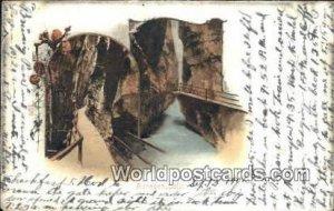 Aareschlucht Swizerland 1902