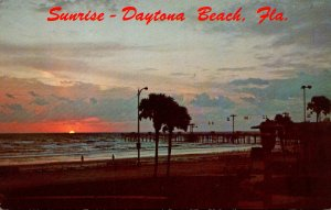 Florida Daytona Beach Sunrise Scene