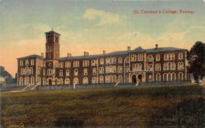 St. Coleman's College, Fermoy, Ireland, Early Postcard, Unused