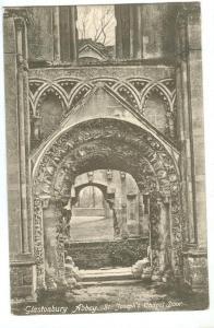 Glastonbury Abbey, St. Joseph's Chapel Door, 1904 used