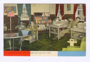 Writing Room, Army Air Base, Salt Lake City, Utah, 1930-1940s