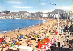 Spain Old Vintage Antique Post Card Las Palmas Gran Canaria 1970