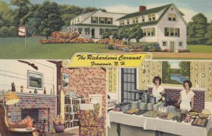 FRANCONIA , New Hampshire , 1930-40s ; The Richardson's Caramat