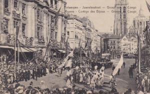 ANVERS, Belgium, 1900-1910´s; Cortege Des Bijoux, Groupe Du Cougo